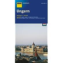 ADAC Länderkarte Ungarn 1:300.000 (ADAC Länderkarten)