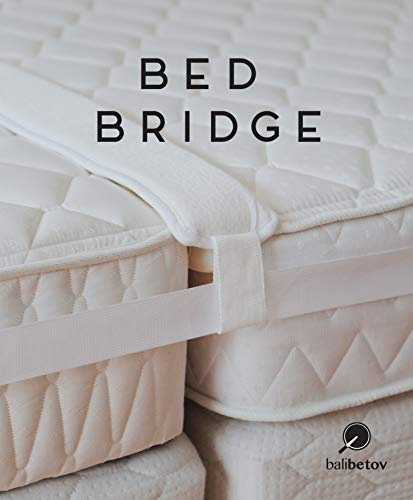 Balibetov Premium Bettbrücke, Bett- und Matratzen-Verbindung, verwandelt Zwei Doppelbetten in EIN King-Size-Bett, ohne Lücken zwischen den Betten, für Gäste, Übernachtungen und Familienfeiern. -