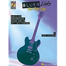 [(Blues Licks You Can Use: Music and Performance Notes for 75 Hot Lead Phrases)] [Author: John Ganapes] published on (November, 2000)