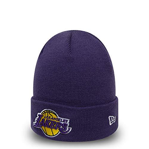 A NEW ERA Era Team Cuff Knit Los Angeles Lakers Gorro