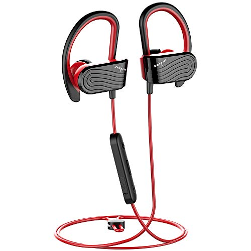Bluetooth Kopfhörer In Ear, Zealot H12 Bluetooth 5.0 HiFi Stereo Noise Cancelling Sport-Kopfhörer mit Wasserdicht / 8 Stunden-Spielzeit/Mikrofon AptX für iPhone Android Noise Cancelling-bluetooth-stereo -