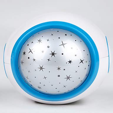 TY-Musik Sternenhimmel Projektion Wecker Snooze digital LED Wecker Kalender Thermometer Projektionslicht,