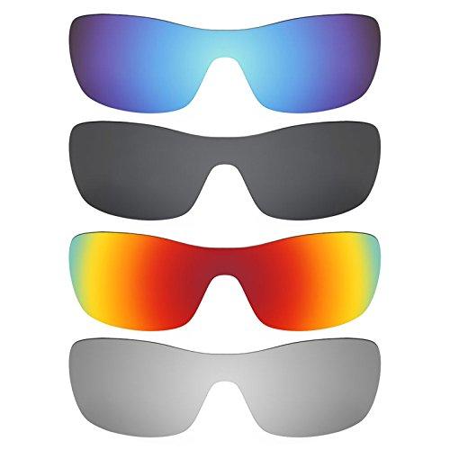 Revant Ersatzlinsen für Oakley Antix Polarisiert 4 Paar Kombipack K018