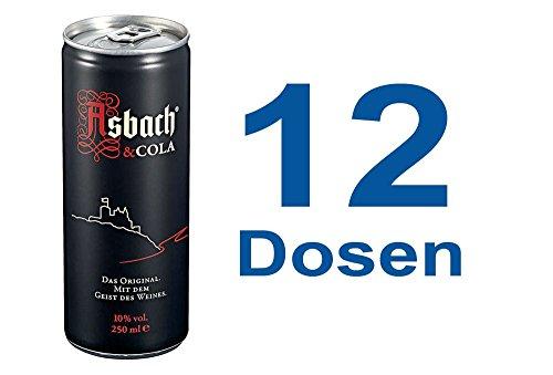 Asbach Cola 12 x 0,25l Dose inkl. 3,00 Euro DPG Pfand
