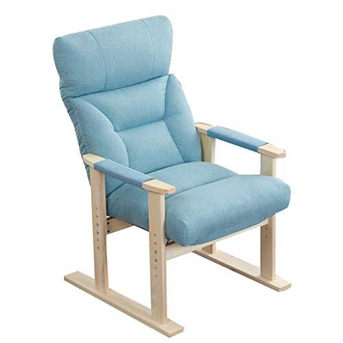 SjYsXm- Liegen Klappbarer Liegestuhl Ergonomischer Lazy Cozy-Liegestuhl Verstellbarer Liegender Strandgarten-Patio-Lounge-Patio-Stühle Mittagspause-Sessel Sun Lounge Easy Chair Relax Chair - Easy Lounge Chair