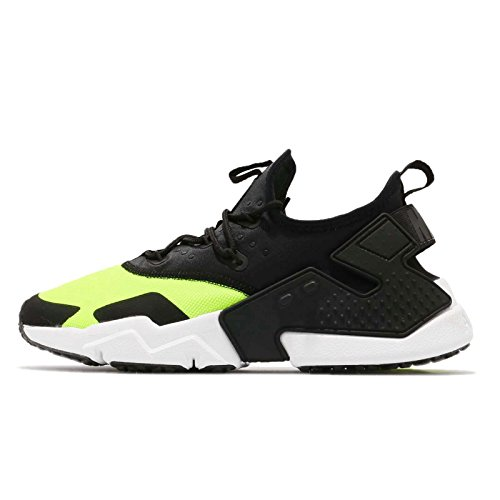 NIKE Mens AIR Huarache Drift Schwarz/Gelb Sneaker Low 47