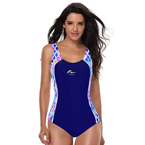 Hotaden Badeanzug Für Frauen Badeanzug Bauch-Steuerärmel Sportlich Bademode Für Die Ausbildung