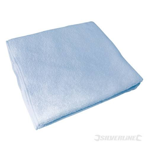 Automotive Car Care Microfibre Cloth Cleaning Set 3 pce pieces 400mm x 400mm Includes super-absorbent drying cloth for quick removal of water droplets, soft polishing cloth for high gloss shine, and finishing cloth to leave windscreens and mirrors streak-free. by SILVERL (Polishing Gloss Shine)
