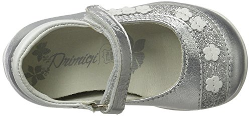 Primigi Phe 7108, Chaussures Marche Bébé Fille Argent (Argento)