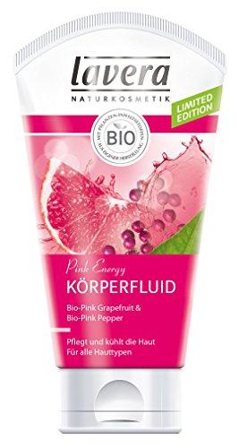 Soap-schaumbad Shampoo (lavera Körperfluid Pink Energy ∙ Pink Grapefruit & Pink Pepper ∙ Pflegt und kühlt die Haut ∙ vegan ✔ Bio Pflanzenwirkstoffe ✔ Naturkosmetik ✔ Körperpflege 2er Pack (2x150 ml))