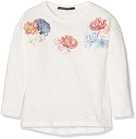 Pepe Jeans Joanna, T-Shirt Fille, Blanc (Off White), FR: 16 ans (Taille Fabricant: 16 ans)