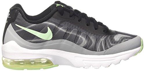 Nike W Air Max Invigor Print, Scarpe da Ginnastica Donna Multicolore (Black/Fresh Mint/Wolf Grey/Racer Pink)