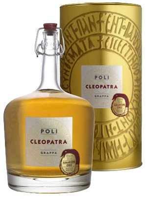 CLEOPATRA AMARONE ORO - Grappa refined nearly 1 year in french oak barrique