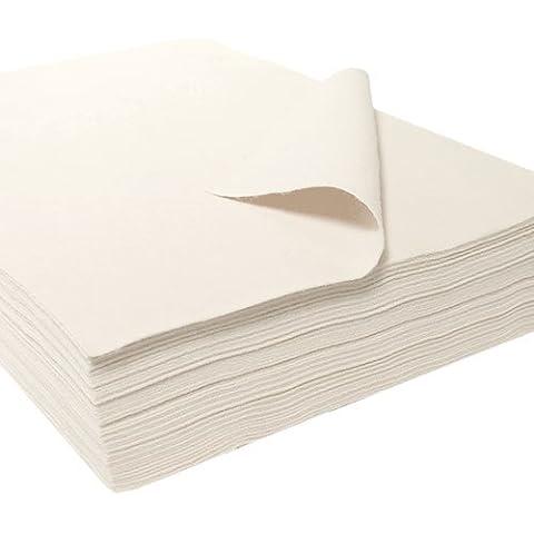 Feltro strappi, acrilico, 25 pcs bianco - Feltro Bianco