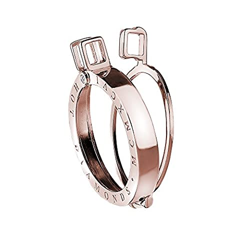 Emozioni Rose Gold Sterling Silver 25mm Coin Keeper