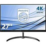 Philips 276E8VJSB/00 Monitor, 68 cm (27 inch), HDMI, 5 ms reactietijd, DisplayPort, 3840 x 2160, 60 Hz, geen curved, 4K, Adaptive Sync, zwart