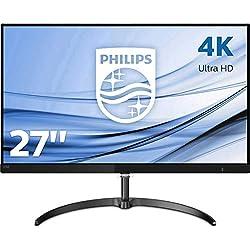 "Philips 276E8VJSB Monitor 27"", IPS 4K, 2 HDMI, Display Port, Nero"