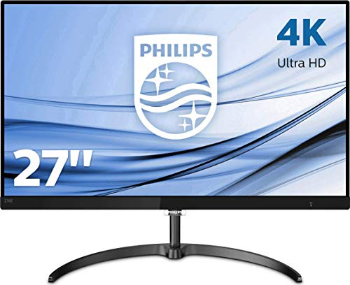 Philips Moniteur LCD 4K Ultra HD 276E8VJSB/00 - Écrans Plats de PC (68,6 cm (27'), 3840 x 2160 Pixels, 4K Ultra HD,...