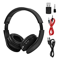 Bicaquu Bluetooth Headset Wireless Gaming Headset Headphone Hifi Stereo Earphone for PS4