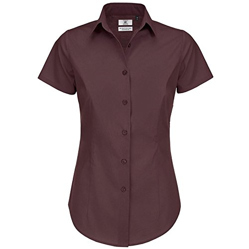 B&C Collection - Chemisier - Moderne - Femme Luxurious Red