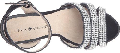 Friis & Company - Cortnay, Scarpe col tacco Donna Nero (Schwarz (Noir (Black)))