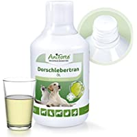 AniForte Aceite de hígado de bacalao 500 kle Naturprodukt para perros y gatos