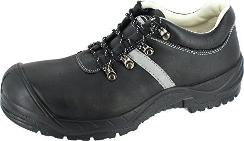 Chaussures basses de sécurité bARI1–largeur :  12 cm-dIN eN iSO 203 45:20 11–sRA s3 (noir) Noir - Noir