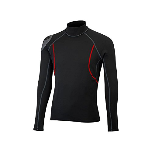 Gill Thermal (Gill Junior Hydrophobe Long Sleeve Top BLACK 4522J Sizes- - Junior Large)