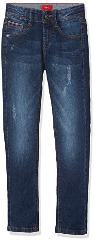 s.Oliver Jungen 75.899.71 Jeans, Blau (Blue Denim Stretch 56Z), 134/REG