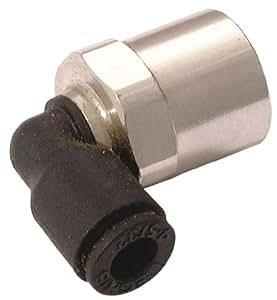 Parker Legris–6mm x 1/20,3cm weiblich Ohrstecker Ellenbogen BSPP–BSPP Gewinde (System LF 3000–Schiebemechanismus Beschläge)