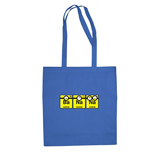 2 Despicable Me Dave Kostüm - Planet Nerd Banana Chemistry - Stofftasche/Beutel, Farbe: blau