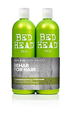 BED HEAD by TIGI Urban Antidotes Re-energizeTM Tween Duo Daily Shampoo & conditioner for Normal Hair 2x750 ml from Tigi