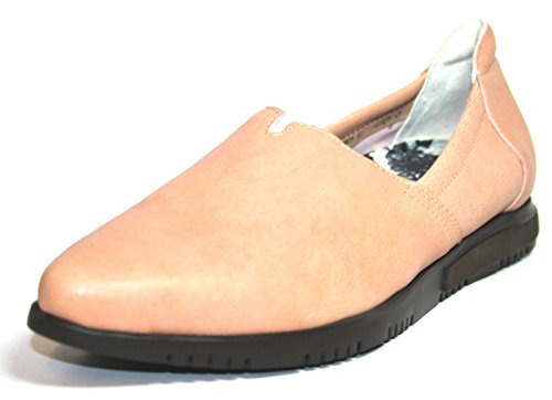 Think  OIWAI, Espadrilles femme Pink (puder/kombi 39)