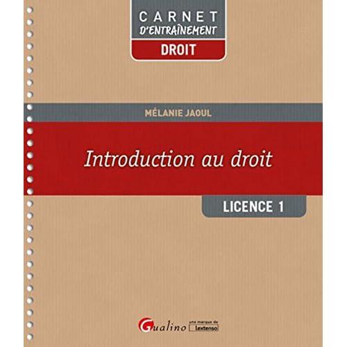 Introduction au droit - L1-S1