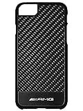 Mercedes AMG - Custodia per iPhone 7, in carbonio, nero