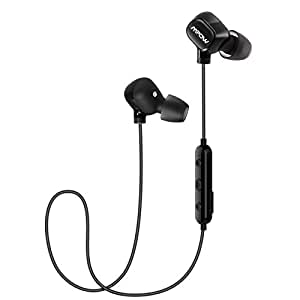 mpow bluetooth running headphones ultra light wireless running earphones sports bluetooth. Black Bedroom Furniture Sets. Home Design Ideas
