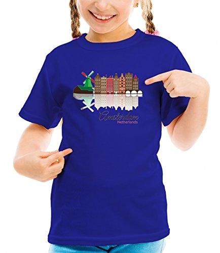 billion-group-amsterdam-skyline-city-collection-girls-classic-crew-neck-t-shirt-dark-blue-medium