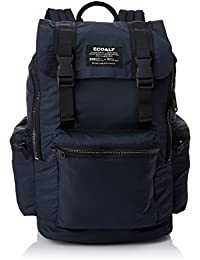 Ecoalf Malindi Backpack, Mochila Unisex Adulto, Azul (Deep Navy), 14x45x28 cm (W x H x L)