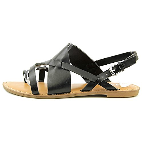 Bar III Voltage Femmes Synthétique Sandales Gladiateur Black