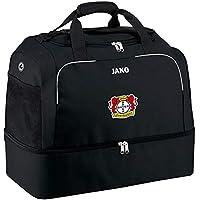 Jako Fußball Bayer 04 Leverkusen Herren Sporttasche Classico mit Bodenfach schwarz Größe 3 Senior