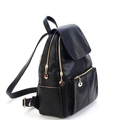 - 41IcDkZ6EWL - HANIB New Girl School Bag Travel Cute Backpack Satchel Women Shoulder Rucksack