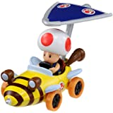 Tomica Mario Kart 7 Mach Queen Toad (super kite with) (japan import)