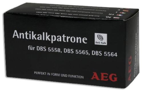 AEG Antikalkpatrone für Dampf Bügelstation DBS 5573, 5558, 5564, 5565, 5591 und Clatronic DBS 3461, Inhalt: 1 Stück