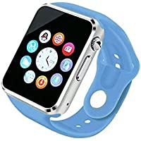 AGPtek A1 Bluetooth Smart Watch Orologio Smart Phone Supporto Mappa GSM SIM per Android Samsung S5 S6 Nota 4 Nota 5 HTC Sony LG e iPhone 5 5 6 6 s più Smartphone Bracciale