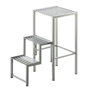 Aero Step Hocker/Klapptritt aluminium