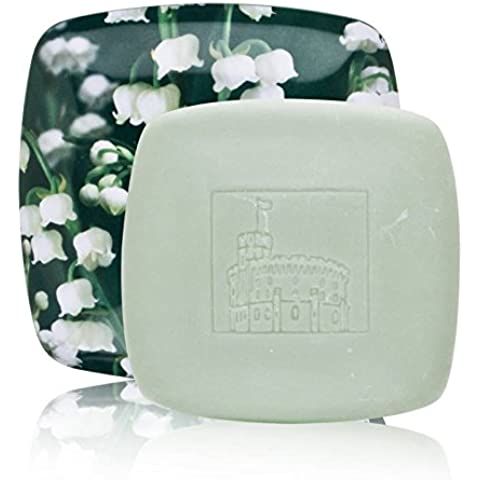 Lily of the Valley by Woods of Windsor (Discontinued) 3.5 oz Fine English Soap with Collector's Tin Dish by Woods of Windsor