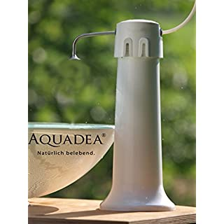 Aquaphor transportable Water Filter with quickchange filter for microfiltration 0.1 Micron composite carbon block and hollow-fibre membrane, K1-07B cartridge for germless clean water - easy to use