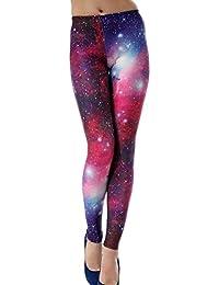 0f6ef70d7e8 Aivtalk Moda Leggings Skinny Pantalones Lápiz Elásticos Pantalón Esbelto  Pants para Mujer Chica - Estampado de