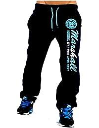 Original Marshall M-21 US Marshall Trainingshose Herren & Damen Jogginghose Sporthose Fleecepant Fitness Hose von Tisey