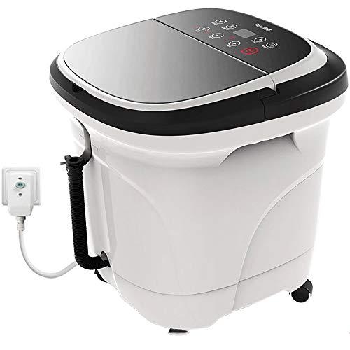 Preisvergleich Produktbild AINUO Fußbad automatische Massage fußbad elektrische heizung fußbad Barrel Tiefe fass konstante temperatur Hause pediküre Maschine weiß
